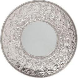 Lustro cosmos flowers srebrne ø110cm
