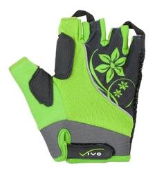 Rękawiczki rowerowe damskie vivo lady sb-01-3151 green