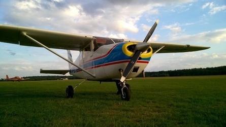 Lot widokowy samolotem - rybnik - 30 minut 1-3os