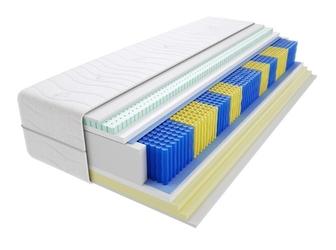 Materac kieszeniowy taba multipocket 125x210 cm miękki  średnio twardy 2x visco memory lateks