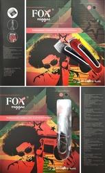 Fox reggae trymer do strzyżenia bezprzewodowy z ostrzem ze stali nierdzewnej