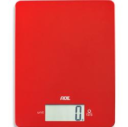 Waga elektroniczna Leonie do 5 kg ADE czerwona AD-KE 1800-1