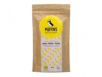 Banan suszony bio 40 g - puffins