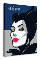 Maleficent Face - Obraz na płótnie