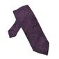 Elegancki fioletowy krawat z grenadyny  bez podszewki