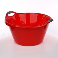 Miska  miednica plastikowa artgos czerwona 25 l