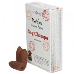 Nag champa - kadzidełka stożkowe typu backflow op. 12 szt