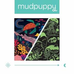 Puzzle rodzinne świecące w ciemności Ocean 500 elementów, 8+, Mudpuppy