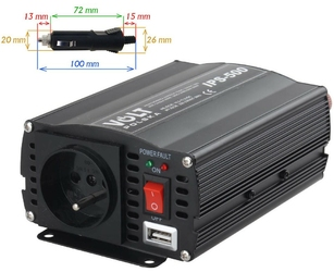 Przetwornica ips-500 12v  230v 350500 w - szybka dostawa lub możliwość odbioru w 39 miastach
