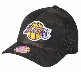 Czapka Mitchell  Ness NBA Los Angeles Lakers Multicamo 110 Trucker - MN-HWC-INTL293-LALAKE-CAM - Los Angeles Lakers