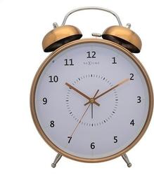 Budzik wake up miedziany 23 cm