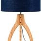 Goodmojo :: podstawa do lampy stołowej annapurna 3-nożna 27x3 niebieska
