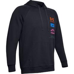 Bluza męska rival fleece originators hoodie - czarny
