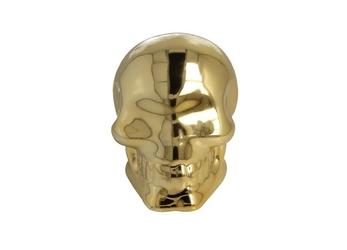 Duo skarbonka czaszka gold