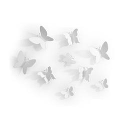 Dekoracja ścienna Mariposa biała
