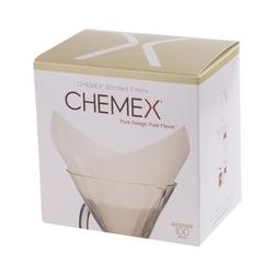 Zestaw 100 filtrów papierowych kwadratowych Chemex