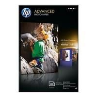 Papier fotograficzny hp advanced, błyszczący – 100 arkuszy10 x 15 cm bez marginesów