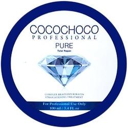 Cocochoco pure treatment do zabiegu keratynowego prostowania włosów 100ml