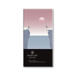 Tabliczka gorzkiej czekolady dance of love balsi - wyjątkowy artystyczny prezent na każdy dzień z mikro plakatem