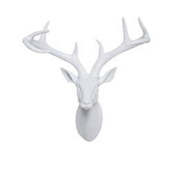 Kare design :: dekoracja ścienna deer head biała