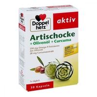 Doppelherz karczoch +oliwa z oliwek+kurkuma kapsułki