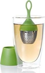 Zaparzaczka do herbaty floatea jasnozielona