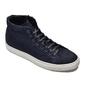 Granatowe wysokie zamszowe sneakersy van thorn 43