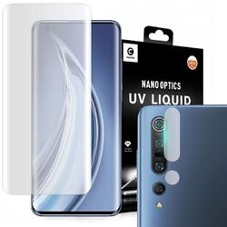 Szkło mocolo 3d uv liquid do xiaomi mi 10 clear + szkło mocolo na obiektyw