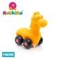 Rubbabu żyrafa – pojazd sensoryczny pomarańczowy mikro