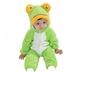 Piżama onesie kigurumi dla dzieci żaba