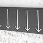 Interior space :: wieszak arrow 5 black