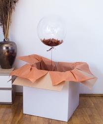 Balon z helem w pudełku - malowniczy rejs