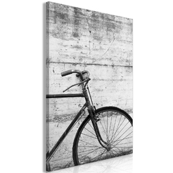 Obraz - rower i beton 1-częściowy pionowy