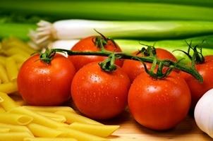 Fototapeta na ścianę świeże warzywa do spagetti fp 1062