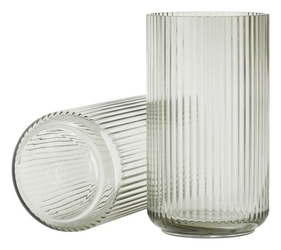 Wazon Lyngby szklany Smoke 31 cm