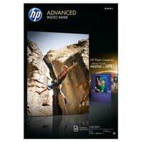 Papier fotograficzny hp advanced, błyszczący – 20 arkuszya3297 x 420 mm