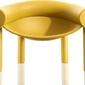 Fotel sam son żółty