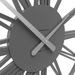 Zegar ścienny pompei calleadesign szary 10-207-03