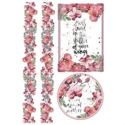 Papier ryżowy Stamperia A4 kwiaty