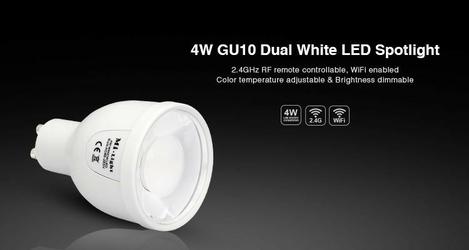Żarówka milight - wi-fi gu10 4w - fut009  fut010