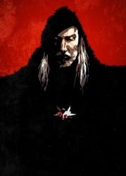 Wiedźmin - bloodlust geralt - plakat wymiar do wyboru: 59,4x84,1 cm