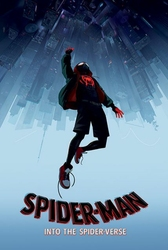 Spider-Man Into The Spider-Verse Fall - plakat