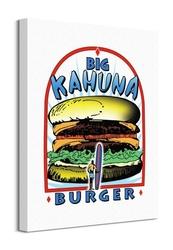Pulp fiction big kahuna burger - obraz na płótnie