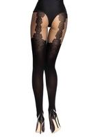 Rajstopy renitana 40 den black livia corsetti