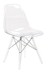 Transparentne krzesło do jadalni dsp ice