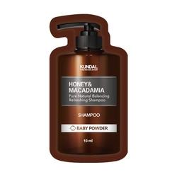 Kundal szampon do włosów honeymacadamia shampoo baby powder tester 10ml