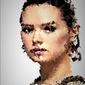 Polyamory - rey, gwiezdne wojny star wars - plakat wymiar do wyboru: 59,4x84,1 cm