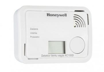 Honeywell detektor tlenku węgla czadu z funkcją alarm scan- z wyświetlaczem
