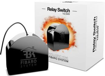 FIBARO Relay Switch  włącznik elektryczny  1x2.5kW - Szybka dostawa lub możliwość odbioru w 39 miastach
