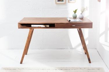 Drewniane biurko retro 120 cm
